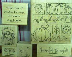 Stampin Up Thoroughly Thankful