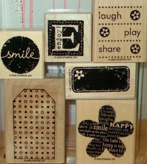 Stampin Up Be Happy