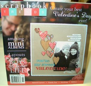 Scrapbook Trends February 2008