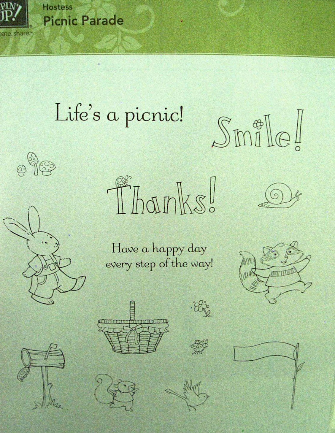 Stampin' Up! Picnic Parade