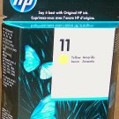 HP Yellow Ink Cartridge #11