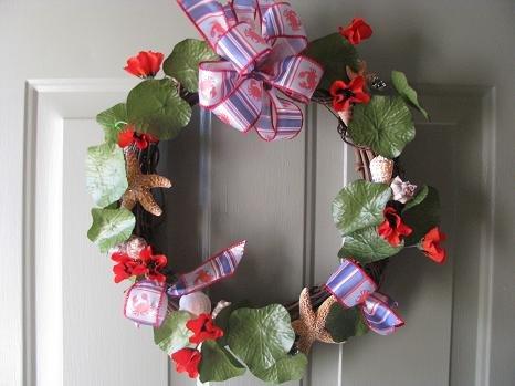Crabby Dreams Wreath