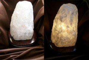 Natural Quartz Translucent Lamp