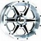 "25"" MUDLITE AT & ITP SS106 TIRE & WHEEL KIT POLARIS"