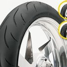 DUNLOP QUALIFER 180-55-17 REAR