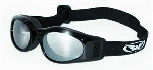 ELIMINATOR GOGGLES GLOBAL VISION BLK FRAME CLEAR LENS