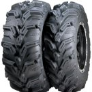 "25"" MUDLITE XTR & ITP SS108 BLACK TIRE & WHEEL KIT"