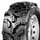 "27"" POWER KING MUDCAT TIRES (2) 27-9-12"