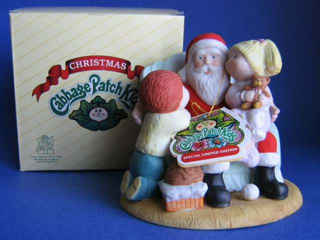 Cabbage Patch Kids figurine CHRISTMAS WISHES NIB 1984