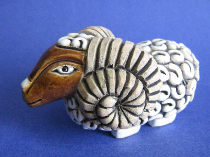 Aries Ram ceramic figurine