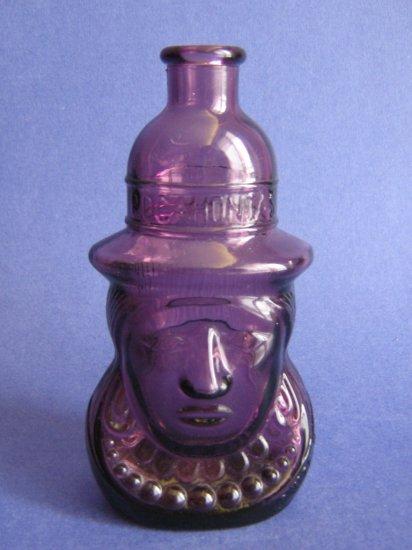 Wheaton Glass Bottle Pocahontas Purple 1971 Vintage