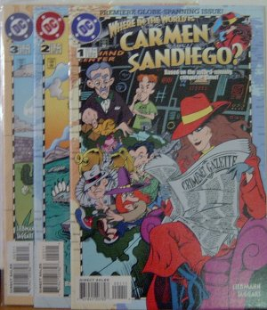 Where in the World is Carmen Sandiego 1-3