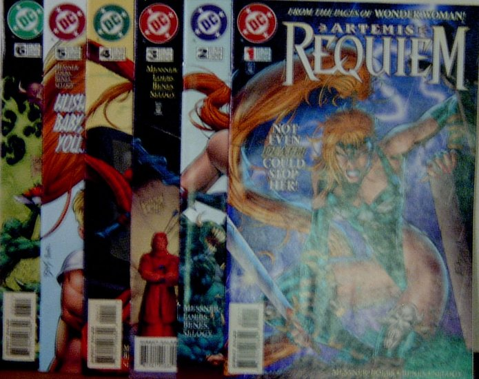 Artemis Requiem #1-6.