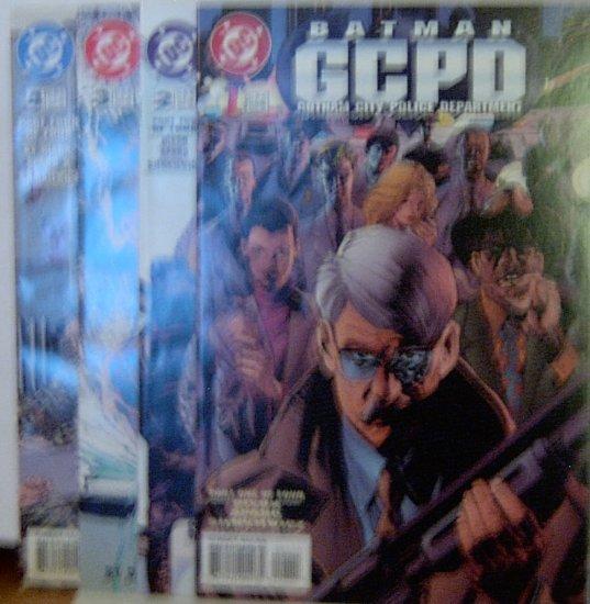 Batman GCPD Gotham City Police Dept