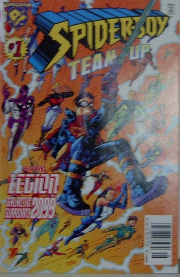 Amalgam: Spider-Boy Team-Up #1