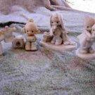 Set of 6 Precious Moments statues