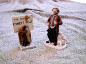 Emmett Kelly Statues
