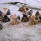 Antique caroling Angles set of 7
