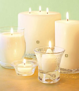 "Citrus Bloom Citronella 3-Wick 6"" x 5"" 50% OFF SALE  just $17"