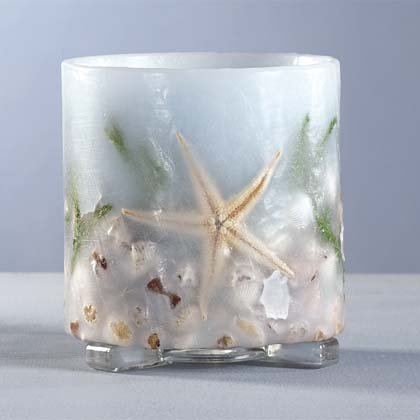 Sea Treasures Candle Lantern