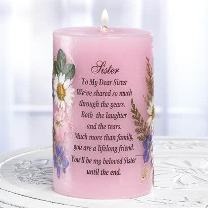 "A Candle For ""Sister"""