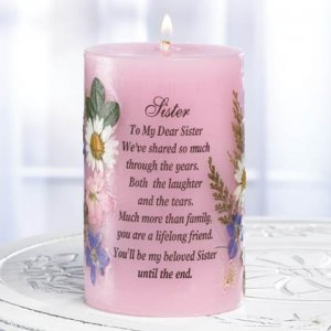 """A Candle For """"Sister"""""""