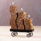 Snakeskin Candle Set