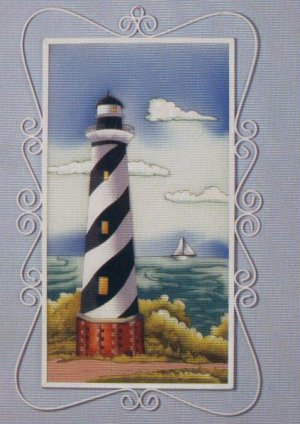 Lighthouse Plaque