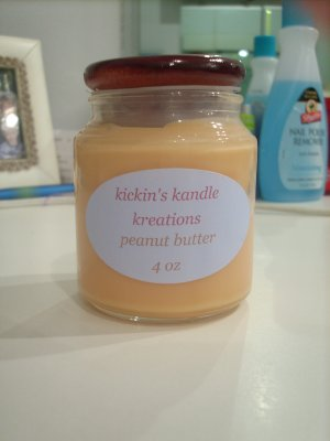 Peanut Butter Soy  Candle