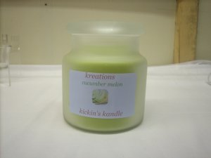 Cucumber Melon Soy Candle 22 oz
