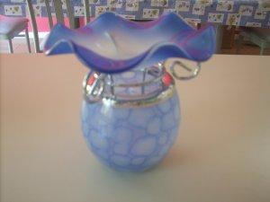 Blue  Tea Light Oil Warmer