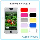 Opaque Yellow Silicone Skin Case for the Apple iPhone