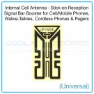 Internal Universal Cell Antenna Stick-on Reception Signal Bar Booster