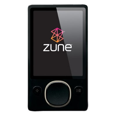 Microsoft Zune 80GB MP3 Player (HPA-00002)