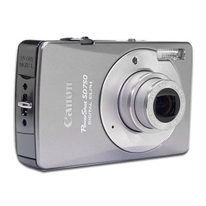 Canon PowerShot SD750 Silver Digital ELPH Camera