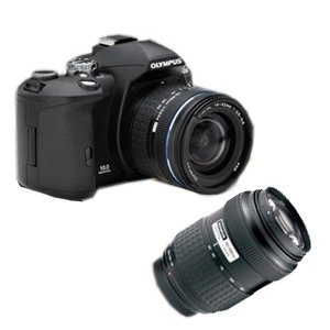 Olympus EVOLT E-510 with 14-42mm & 40-150mm Lens
