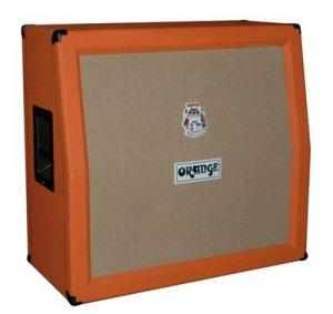 Orange 4x12 Cabinet