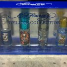Ed Hardy Deluxe Collection Fragrance Gift Set Men/Guys 4 Piece NIB $72 Value!