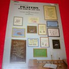 Mary Ellen Designs Prayers for Kids of Any Age Counted Cross Stitch Needlepoint Picture Pattern