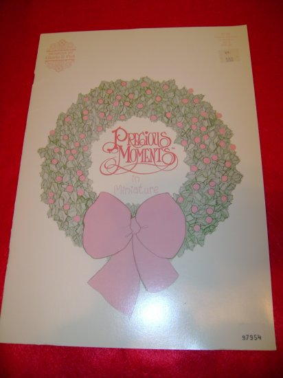 Precious Moments in Miniature Volume 3 Cross Stitch Pattern Booklet