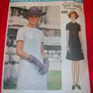 Vogue Couturier Design Sybil Connolly Misses One Piece Dress Pattern Size 16