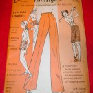 Vintage Else Knit N Fit Pantstyles Pants Dress Pattern 1971