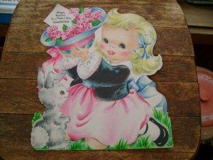 Vintage 1948 Hallmark Daughter Easter Greeting Card