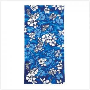 Blue Hawaiian Beach Towel