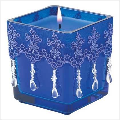 Azure Elegance Candle