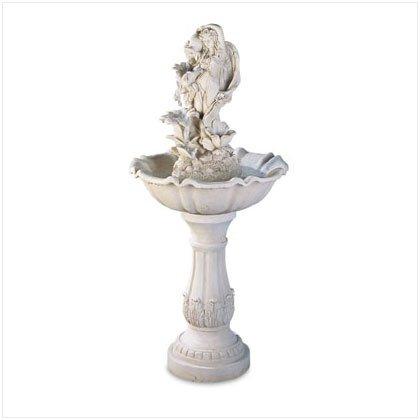 Fairy With Urn Garden Fountain