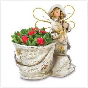Country Angel Gardener Figurine