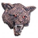 Wolf Head Buckle