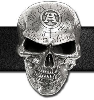 Omega Skull Buckle