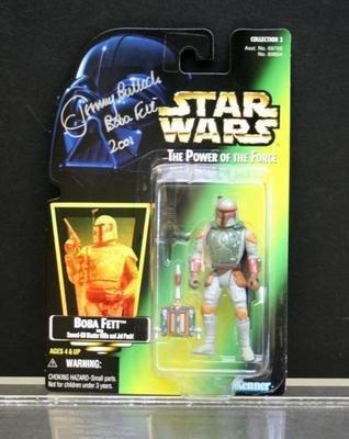 Bobba Fett  Star Wars POF AUTOGRAPHED